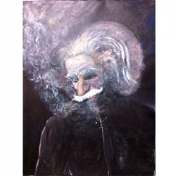 Albert Einstein - Tranh Điện Tử