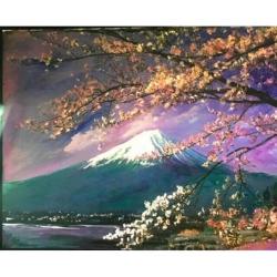 Núi Phú Sĩ 1 - Tranh Điện Tử